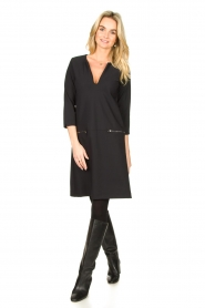 D-ETOILES CASIOPE |  Travelwear dress Vruc | black  | Picture 3