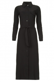 D-ETOILES CASIOPE |  Travelwear midi dress Valerie | black  | Picture 1