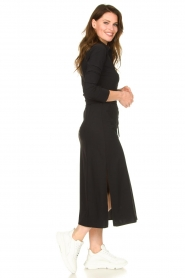 D-ETOILES CASIOPE |  Travelwear midi dress Valerie | black  | Picture 3