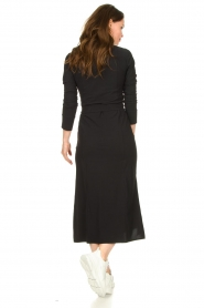 D-ETOILES CASIOPE |  Travelwear midi dress Valerie | black  | Picture 4