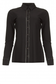 D-ETOILES CASIOPE |  Travelwear blouse Verona | black  | Picture 1