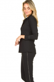 D-ETOILES CASIOPE |  Travelwear blouse Verona | black  | Picture 5