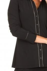 D-ETOILES CASIOPE    Travelwear blouse Verona   black    Picture 7