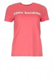 Tara Jarmon | T-shirt Bonbon | roze  | Afbeelding 1