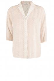 IKKS | Semi-sheer blouse  Chemise | wit  | Afbeelding 1