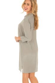 Aaiko |  Silk tunic Carmel | grey  | Picture 5