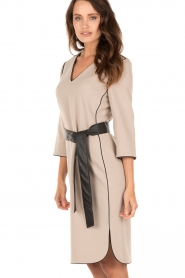 Dress Rhena | taupe