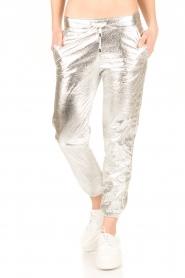 IKKS | Zilveren pantalon Susana | zilver  | Afbeelding 2