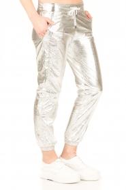 IKKS | Zilveren pantalon Susana | zilver  | Afbeelding 4