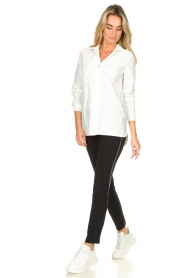 D-ETOILES CASIOPE |  Travelwear trousers Virgenie | white  | Picture 3