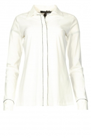 D-ETOILES CASIOPE |  Travelwear blouse Verona | white  | Picture 1