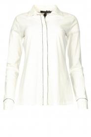 D-ETOILES CASIOPE    Travelwear blouse Verona   white    Picture 1
