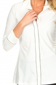 D-ETOILES CASIOPE |  Travelwear blouse Verona | white  | Picture 8