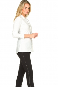 D-ETOILES CASIOPE |  Travelwear blouse Verona | white  | Picture 6