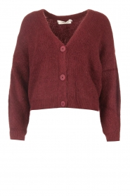 Aaiko    Knitted cardigans Malani   red    Picture 1