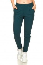 D-ETOILES CASIOPE |  Travelwear trousers Rover | blue  | Picture 4