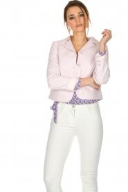 Tara Jarmon |  Blazer Pisous | pink  | Picture 2
