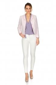 Tara Jarmon |  Blazer Pisous | pink  | Picture 3