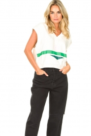 Dolly Sports |  Sportive spencer Diana | white  | Picture 2