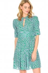 Tara Jarmon |  Dress Emeraude | green  | Picture 4