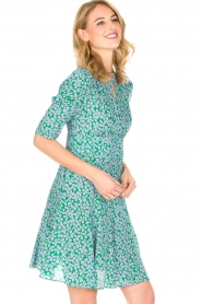 Tara Jarmon |  Dress Emeraude | green  | Picture 5