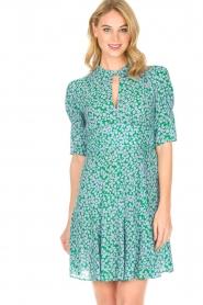 Tara Jarmon |  Dress Emeraude | green  | Picture 2