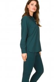 D-ETOILES CASIOPE |  Travelwear blouse Veritas | blue  | Picture 5