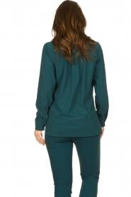D-ETOILES CASIOPE |  Travelwear blouse Veritas | blue  | Picture 7