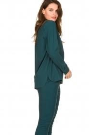 D-ETOILES CASIOPE |  Travelwear blouse Veritas | blue  | Picture 6