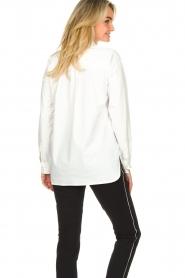 D-ETOILES CASIOPE | Travelwear blouse Veritas | wit  | Afbeelding 7