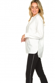 D-ETOILES CASIOPE |  Travelwear blouse Veritas | white  | Picture 6
