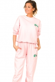 Dolly Sports |  Basic sweater Team Dolly | pink  | Picture 2