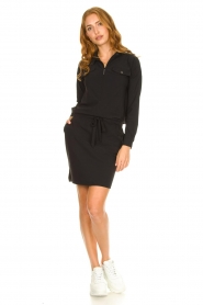 D-ETOILES CASIOPE :  Travelwear dress Vulcano | black - img3