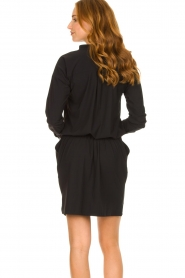 D-ETOILES CASIOPE :  Travelwear dress Vulcano | black - img6