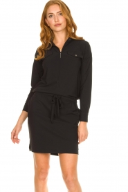 D-ETOILES CASIOPE :  Travelwear dress Vulcano | black - img2