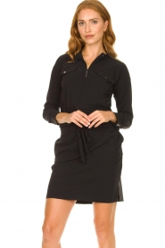 D-ETOILES CASIOPE :  Travelwear dress Vulcano | black - img4