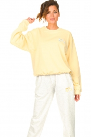 Dolly Sports |  Basic sweater Team Dolly | yellow  | Picture 5
