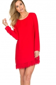 Patrizia Pepe |  Dress Bella | red  | Picture 2