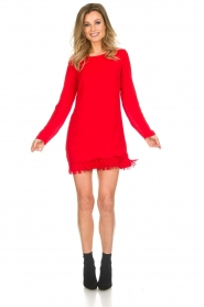 Patrizia Pepe |  Dress Bella | red  | Picture 3