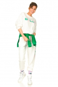 Dolly Sports | Basic trui Team Dolly | wit  | Afbeelding 3