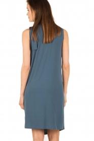 By Malene Birger | Asymmetrische jurk Junni | blauw  | Afbeelding 5