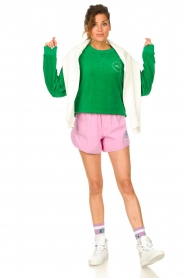 Dolly Sports |  Sweater with towel fabric Classic DS | green  | Picture 3