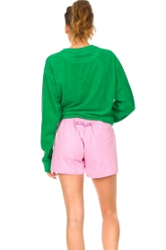 Dolly Sports |  Sweater with towel fabric Classic DS | green  | Picture 6