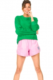 Dolly Sports |  Sweater with towel fabric Classic DS | green  | Picture 2