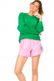 Dolly Sports |  Sweater with towel fabric Classic DS | green  | Picture 4