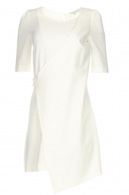Patrizia Pepe |  Dress with wrap detail Wonder | white  | Picture 1