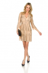 Patrizia Pepe | Dress Babette | beige  | Picture 3