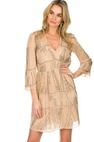 Patrizia Pepe | Dress Babette | beige  | Picture 4