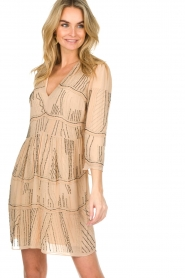 Patrizia Pepe | Dress Babette | beige  | Picture 2