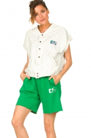 Dolly Sports |  Sweatshorts Team Dolly | green  | Picture 2
